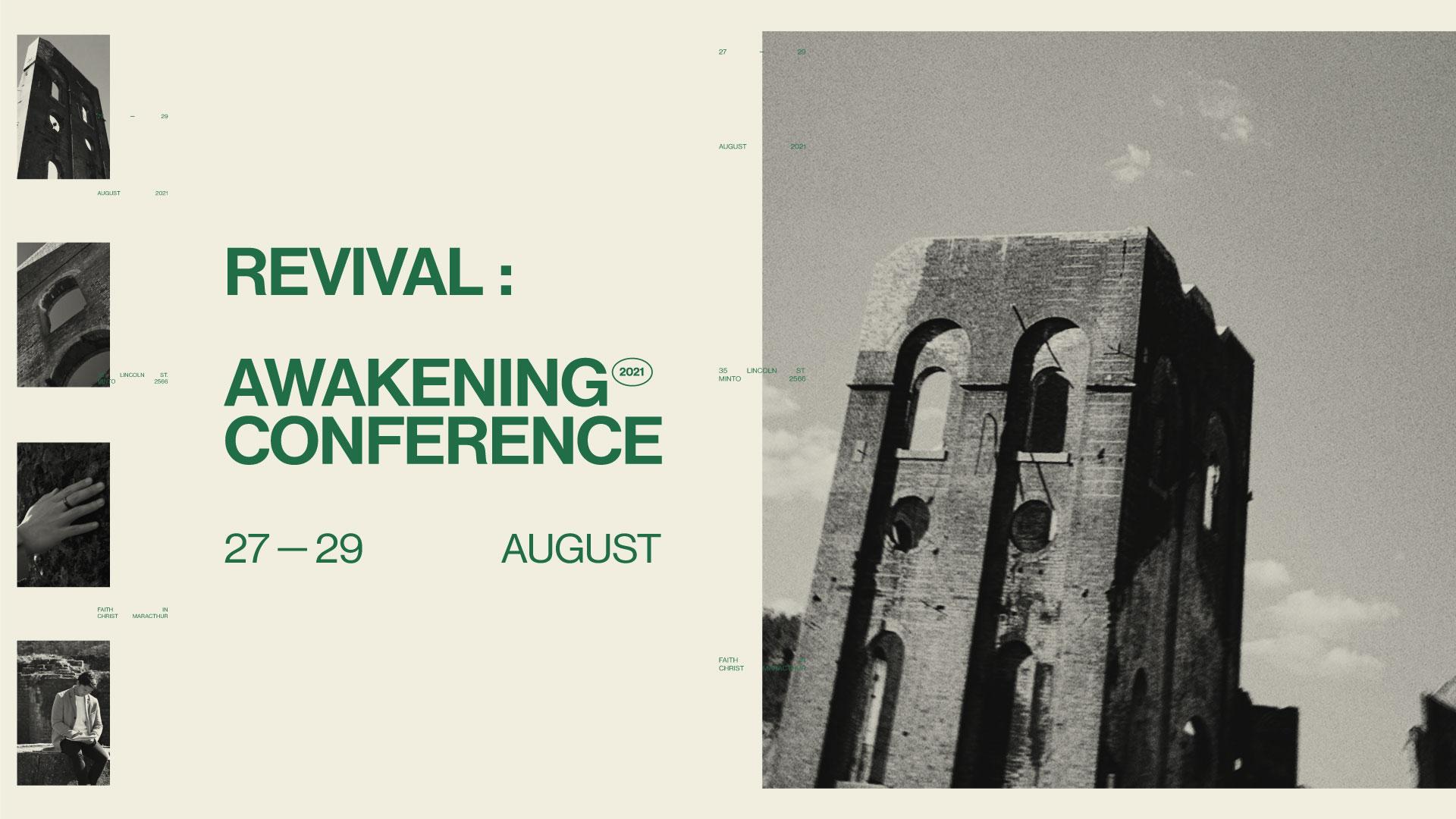 Awakening Conference Website Banner